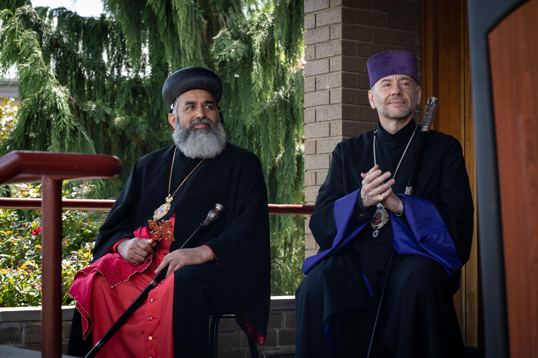 Archbishop Mor Silvanus Ayub & Bishop Daniel Findikyan