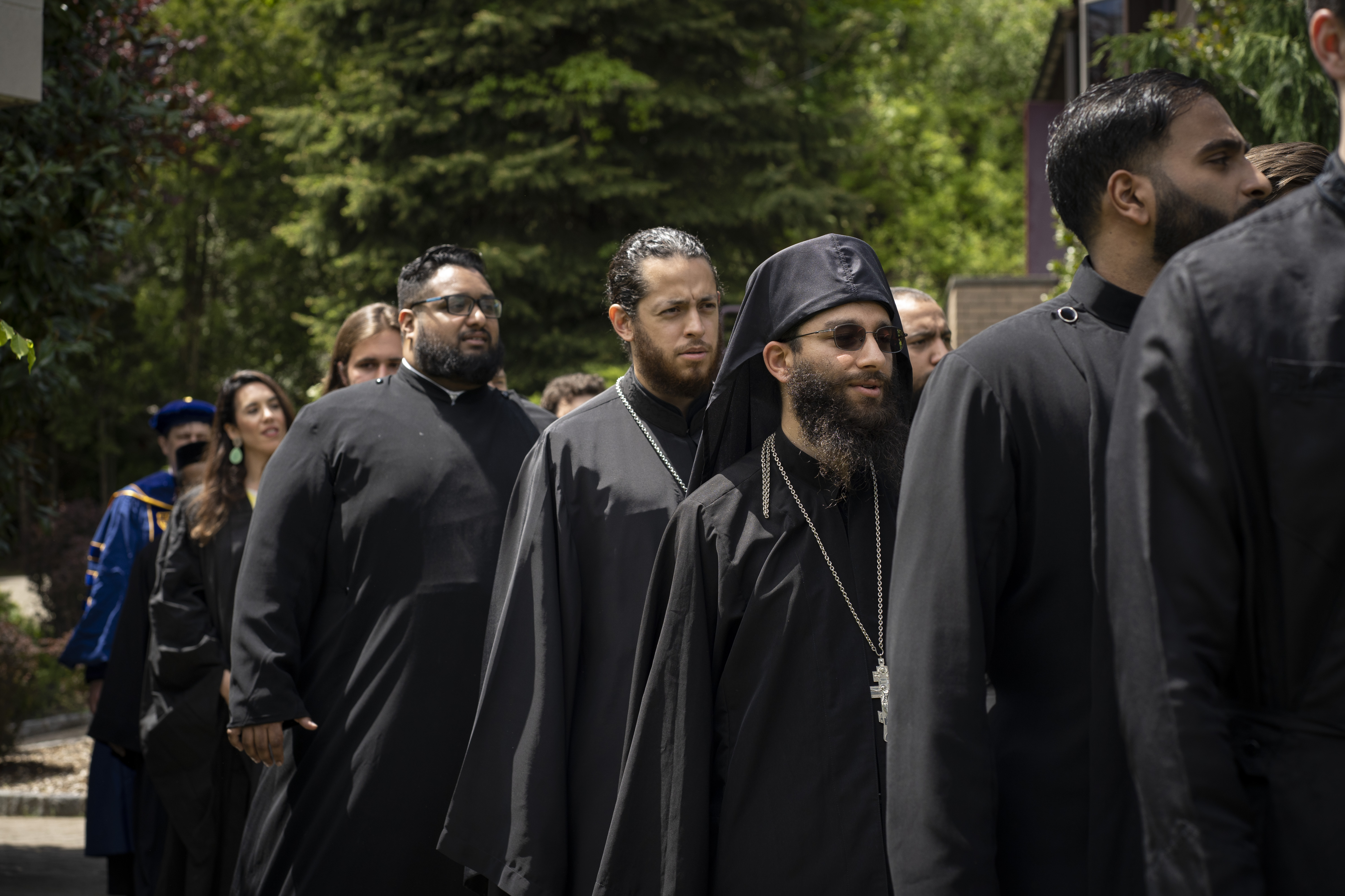 Seminarians in Commencement Procession
