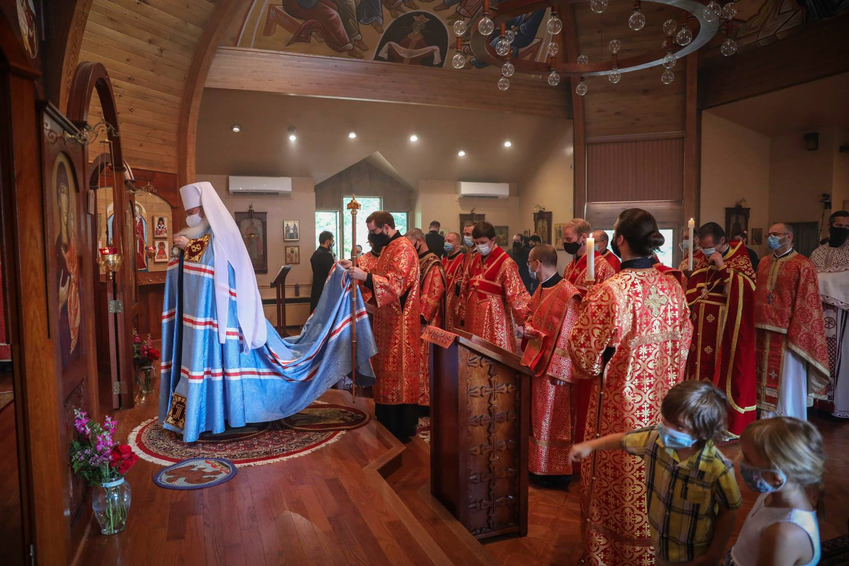 Scenes from Divine Liturgy and ordination of Dn. Vitaly